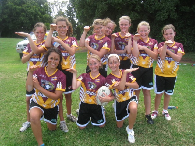 Coolum Cobras u/11 State Cup Team